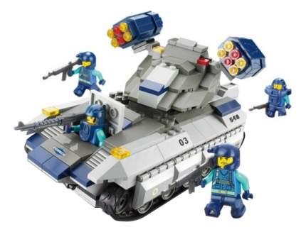 Конструктор Военный спецназ Ракетный танк Вулкан Sluban Г28694
