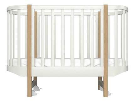 Кровать-трансформер Ellipsefurniture EllipseClassic молочная
