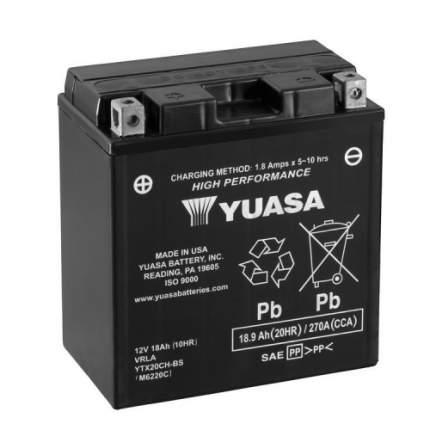 Аккумулятор для мототехники YUASA YTX20CH-BS