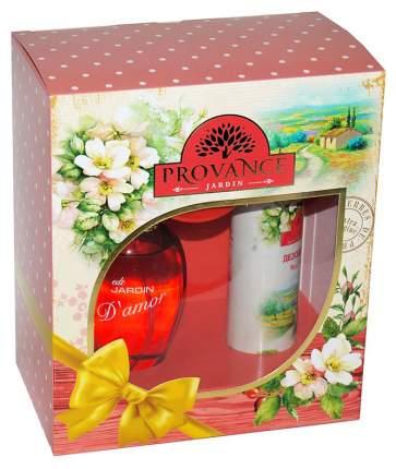 Подарочный набор Provance de France Jardin № 12 Туалетная вода 65 мл, дезодорант 75 мл