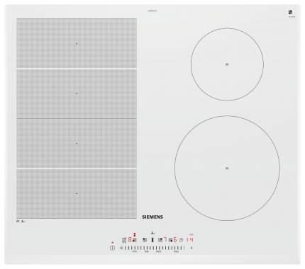 Встраиваемая варочная панель индукционная Siemens EX652FEC1E White