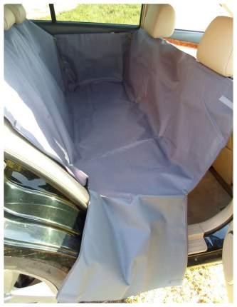Автогамак для перевозки собак с мягкой защитой дверей MAXI (серый)