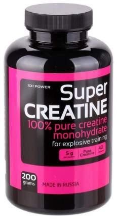 Креатин XXI Power Super Creatine, 200 г, unflavored