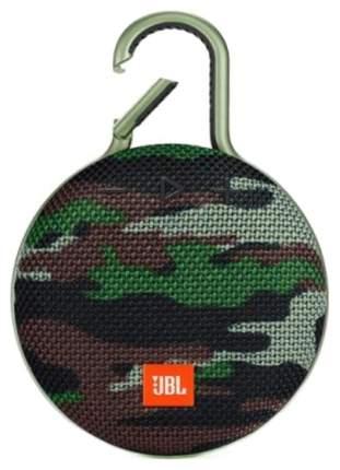 Беспроводная акустика JBL Сlip 3 Squad Brown/Green (JBLCLIP3SQUAD)