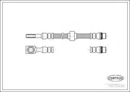 Шланг тормозной системы Corteco 19032838