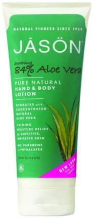 Лосьон для рук Jason Soothing 84% Aloe Vera Hand & Body Lotion 227 мл