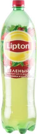 Чай зеленый Lipton клюква-земляника 1.5 л