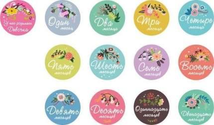 Stick n Click Набор стикеров для девочек Цветы жизни