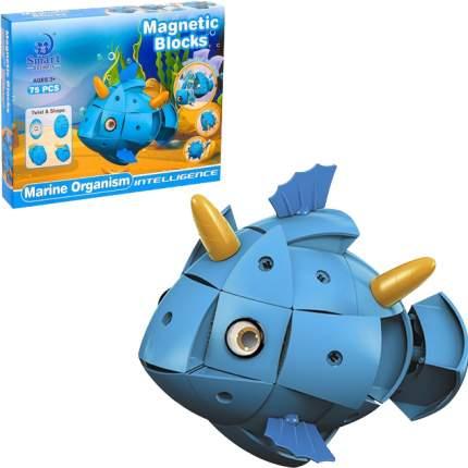 Конструктор магнитный Наша Игрушка Морские обитатели 303