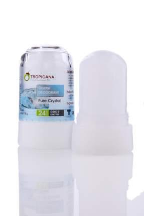 Натуральный дезодорант кристалл Tropicana 'Чистый кристалл', 70 гр