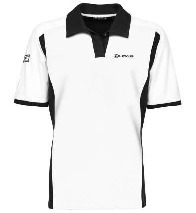 Мужская рубашка-поло Lexus LMFS00023L F White/Black