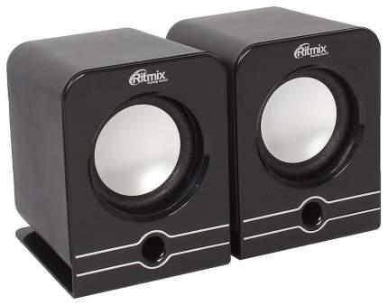 Колонки компьютерные RITMIX SP-2040 Black 2,0, 2x2,5Вт, 20-18000 Гц, mini Jack, USB