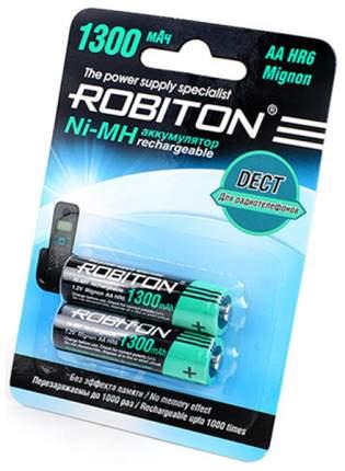 Аккумулятор Robiton 1300MHAA-2 154-903,2 шт.