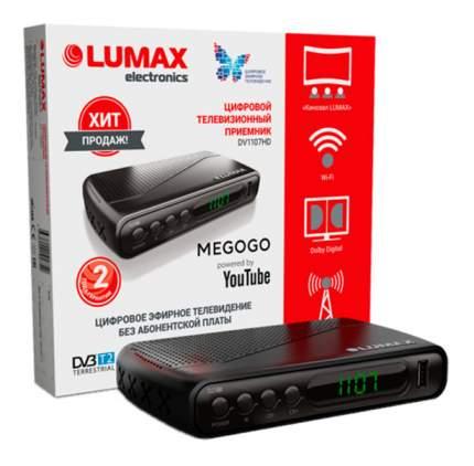 DVB-T2 приставка Lumax DV-1107HD Black
