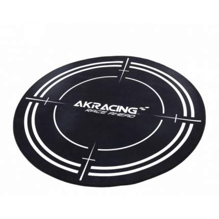 Коврик под компьютерное кресло AKRacing Floormat Black
