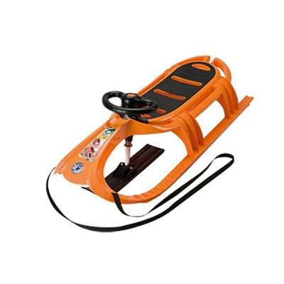 Санки детские KHW Snow Tiger De Luxe оранжевый