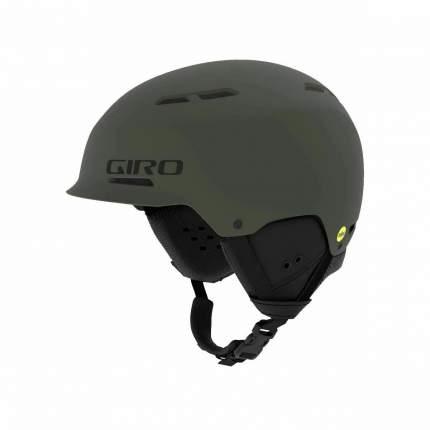 Горнолыжный шлем мужской Giro Trig Mips 2019, хаки, L