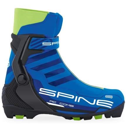 Ботинки для беговых лыж Spine RC Combi 86 NNN 2019, black/blue/lime, 39