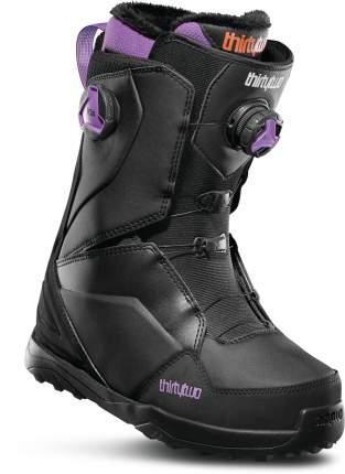 Ботинки для сноуборда ThirtyTwo Lashed W's 2020, black/purple, 24.5