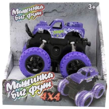 Инерционная машинка 4х4, фиолетовая Funky Toys