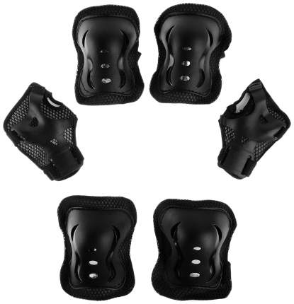 Защита роликовая OT-2020 р S, цвет черный ONLITOP