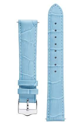 Ремешок для часов Signature 111560-20-long светло-голубой 20 mm long