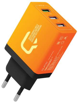 Сетевое зарядное устройство Qumo Quick Charge 24349 4.2 A Orange