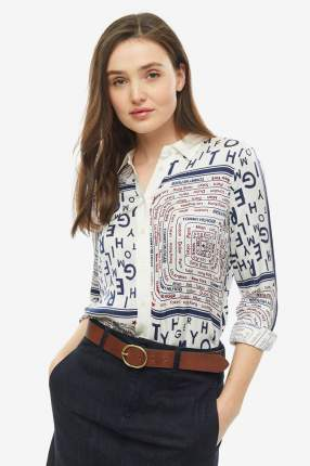 Рубашка женская Tommy Hilfiger WW0WW25323 178 белая 8 US