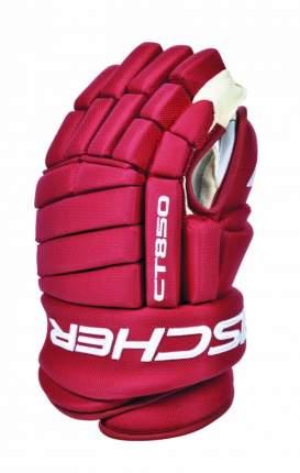 Перчатки игрока Fischer CT850 Custom (красный), 13'
