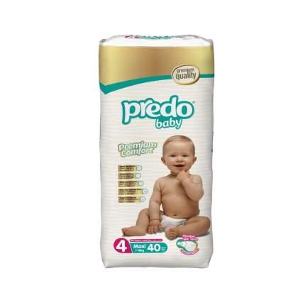 Подгузники Predo Baby Maxi №4 Преимущественная пачка 40 шт. 7-18 кг