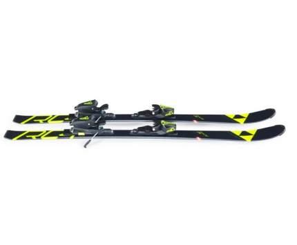 Горные лыжи Fischer RC4 Race SLR 2 Jr + FJ4 AC SLR 2019, black/yellow, 90 см