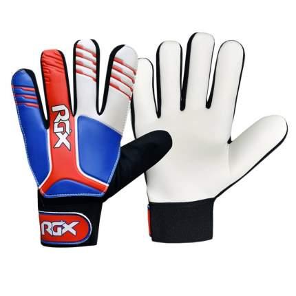 Вратарские перчатки RGX GFB06, white/red/blue, M