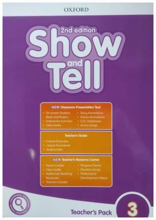 "Книга Oxford University Press ""Show and Tell: Level 3: Teacher's Pack"""