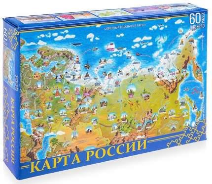 Пазлы Нескучные Игры Карта России