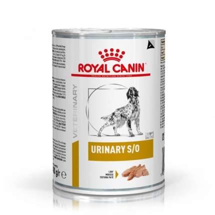 Консервы для собак ROYAL CANIN Urinary S/O, при МКБ, курица, 420г