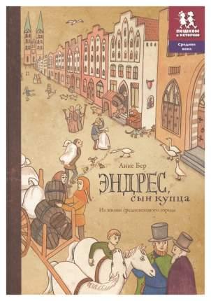 """Книга """"Эндрес, сын купца. Из жизни средневекового города"""""""