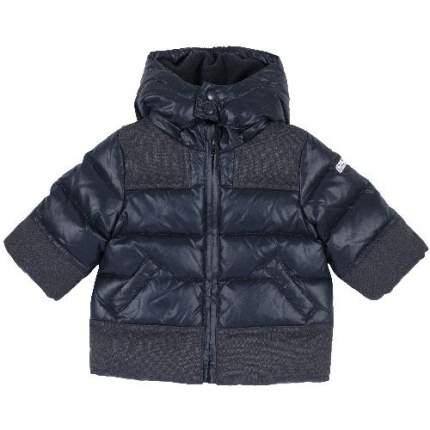 Куртка Chicco для мальчиков р.80 цв.темно-синий