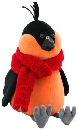 Мягкая игрушка «Снегирь» в красном шарфе, 20 см Orange