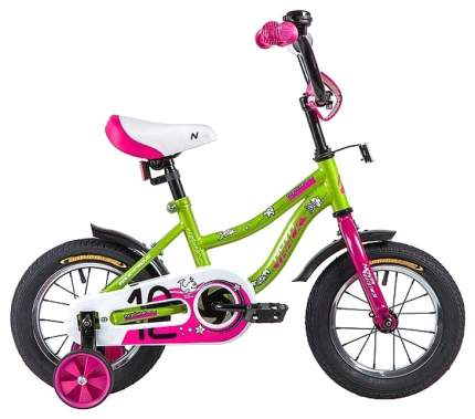 """Велосипед Novatrack """"Neptune"""" (цвет: салатовый, 12"""")"""