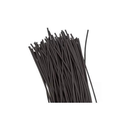 Термоусадка EKF ТУТ   4/2 черная в отрезках по 1м PROxima 100 шт