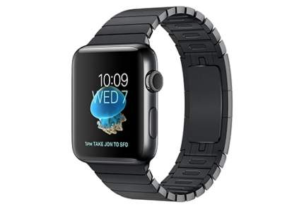 Смарт-часы Apple Watch Series 2 42mm Stainless Steel/Black Space (MNQ02RU/A)