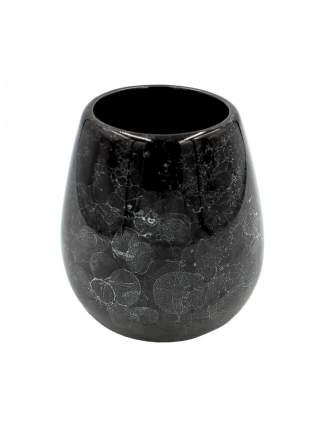 стакан для зубных щеток BATH PLUS PIETRA black