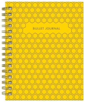 Творческий блокнот Бомбора Bullet Journal Желтый