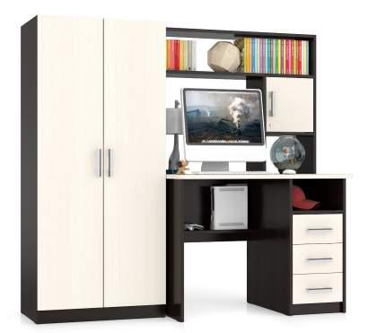 Компьютерный стол Мебельный Двор СК-9, дуб/венге