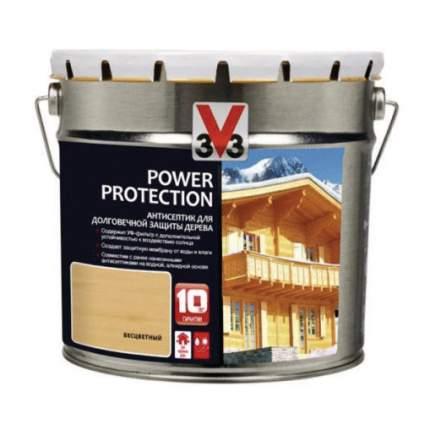 Пропитка для дерева V33 POWER PROTECTION полуглянец Венге  0,9л.