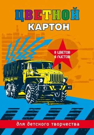 Цветной картон Феникс+ арт. 47148 Желтый грузовик