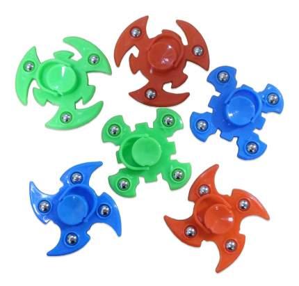 Спиннер Junfa toys тройной пластмассовый Y22893002 в ассортименте