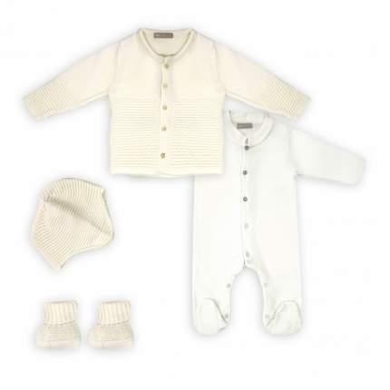 Комплект одежды детский RBC МЛ479002 крем-молочный р.62