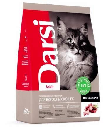 Сухой корм Darsi для кошек (300 г, Мясное ассорти)