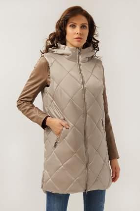 Утепленный жилет женский Finn Flare A19-32018 серый S